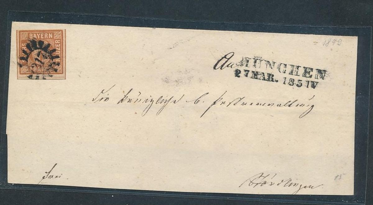 Bayern Briefstück  (oo8868   ) siehe scan 0