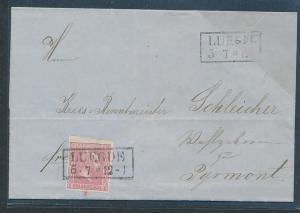 Preussen....-uralter Beleg   (oo8898   ) siehe scan