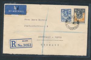 Rhodesien - alter Luftpost Beleg   (oo8771  ) siehe scan