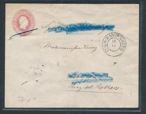Preussen  -Ganzsache  (zu1334   ) siehe scan