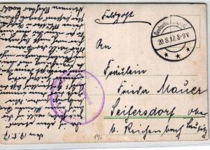 Deutsche Feldpost -Polen    ....Karte (ke6329    ) siehe scan