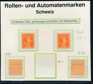 Schweiz Abarten Lot -rare **   (oo9022   ) siehe scan