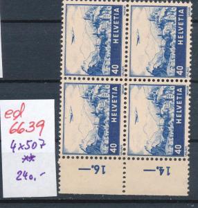 Schweiz 4x 507   **(ed6639  ) siehe scan