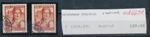 Schweiz  Abart....o  (ed6631  ) siehe scan