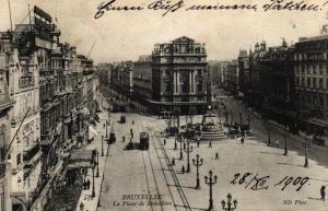 Brüssel....alteKarte  (ke6099   ) siehe scan