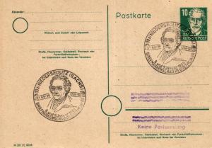 SBZ/DDR -Sonderstempel Karte.... Heimat Beleg (ke8095  ) siehe scan