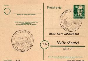 SBZ/DDR -Sonderstempel Karte.... Heimat Beleg (ke8098  ) siehe scan