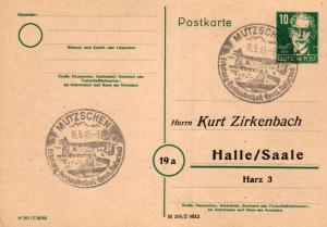 SBZ/DDR -Sonderstempel Karte.... Heimat Beleg (ke8099  ) siehe scan
