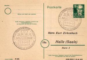 SBZ/DDR -Sonderstempel Karte.... Heimat Beleg (ke8102  ) siehe scan