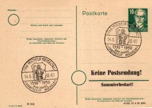 SBZ/DDR -Sonderstempel Karte.... Heimat Beleg (ke8105  ) siehe scan