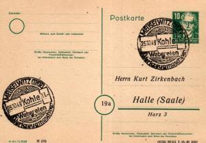 SBZ/DDR -Sonderstempel Karte.... Heimat Beleg (ke8106  ) siehe scan