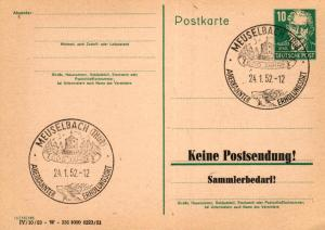SBZ/DDR -Sonderstempel Karte.... Heimat Beleg (ke8107  ) siehe scan