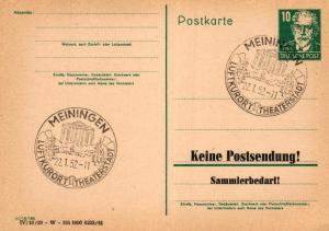SBZ/DDR -Sonderstempel Karte.... Heimat Beleg (ke8108  ) siehe scan