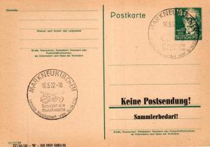 SBZ/DDR -Sonderstempel Karte.... Heimat Beleg (ke8109  ) siehe scan