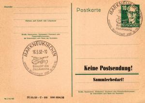 SBZ/DDR -Sonderstempel Karte.... Heimat Beleg (ke8110  ) siehe scan