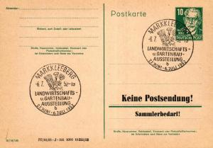 SBZ/DDR -Sonderstempel Karte.... Heimat Beleg (ke8111  ) siehe scan