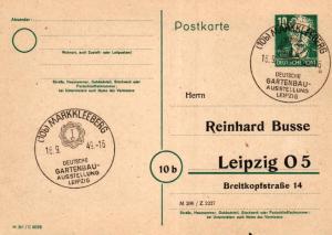 SBZ/DDR -Sonderstempel Karte.... Heimat Beleg (ke8114  ) siehe scan