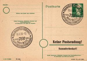 SBZ/DDR -Sonderstempel Karte.... Heimat Beleg (ke8115  ) siehe scan
