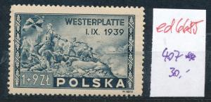 Polen Nr. 407   **  (ed6685  ) siehe scan