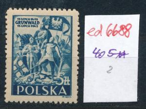 Polen Nr. 405  **  (ed6688  ) siehe scan