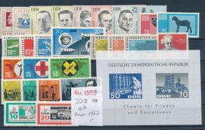 DDR ex 1963 - nettes Lot     (zu1359  ) siehe scan