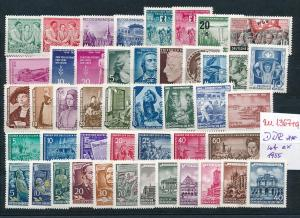 DDR ex 1955 - nettes Lot     (zu1367  ) siehe scan