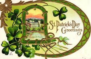 St.Patricks day  ..-alte Karte ....  ( ke5871  ) siehe scan