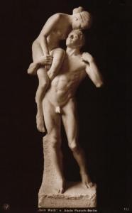 Skulptur..-alte Karte ....  ( ke5847  ) siehe scan