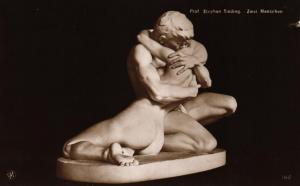 Skulptur..-alte Karte ....  ( ke5843  ) siehe scan