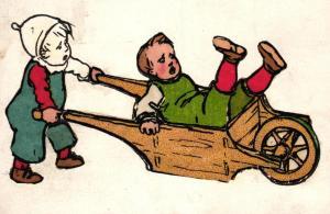 Kinder ..-alte Karte ....  ( ke5861  ) siehe scan