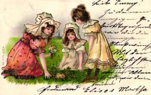 Kinder ..-alte Karte ....  ( ke5855  ) siehe scan