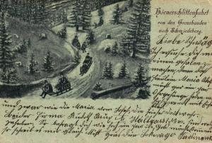 Riesengebirge     .. ....alte Karte ...  (ke7065    ) siehe scan