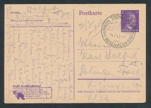 D.-Reich - Ganzsache    (oo2270  ) siehe scan