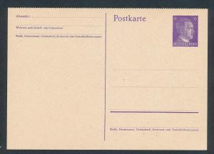 D.-Reich - Ganzsache    (oo2275  ) siehe scan