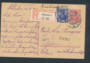 D.-Reich - Ganzsache    (oo2280  ) siehe scan