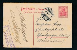 D.-Reich - Ganzsache    (oo2281  ) siehe scan