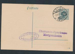 D.-Reich - Ganzsache    (oo2282  ) siehe scan
