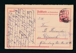 D.-Reich - Ganzsache    (oo2283  ) siehe scan