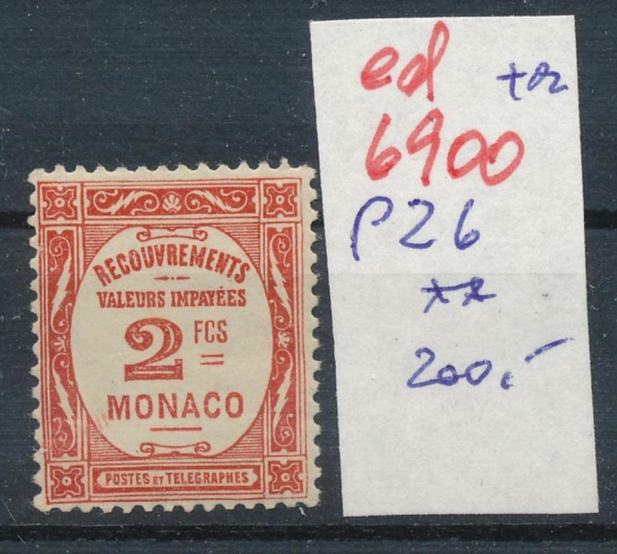 Monaco Porto  26   ** ...  (ed6900  ) siehe scan 0