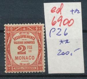 Monaco Porto  26   ** ...  (ed6900  ) siehe scan