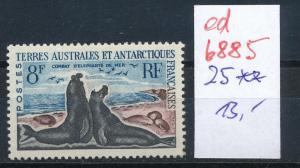 Franz.-Antarktis Nr. 25    ** ...  (ed6885  ) siehe scan