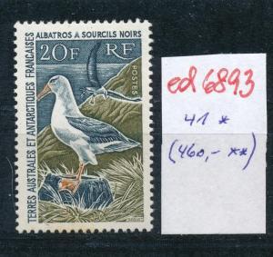 Franz.-Antarktis Nr. 41   sauber * ...  (ed6893  ) siehe scan