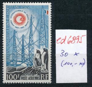 Franz.-Antarktis Nr. 30   sauber * ...  (ed6895  ) siehe scan