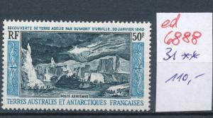Franz.-Antarktis Nr. 31  **...  (ed6888  ) siehe scan