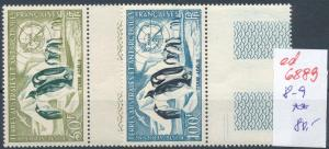 Franz.-Antarktis Nr. 8-9  **...  (ed6889  ) siehe scan