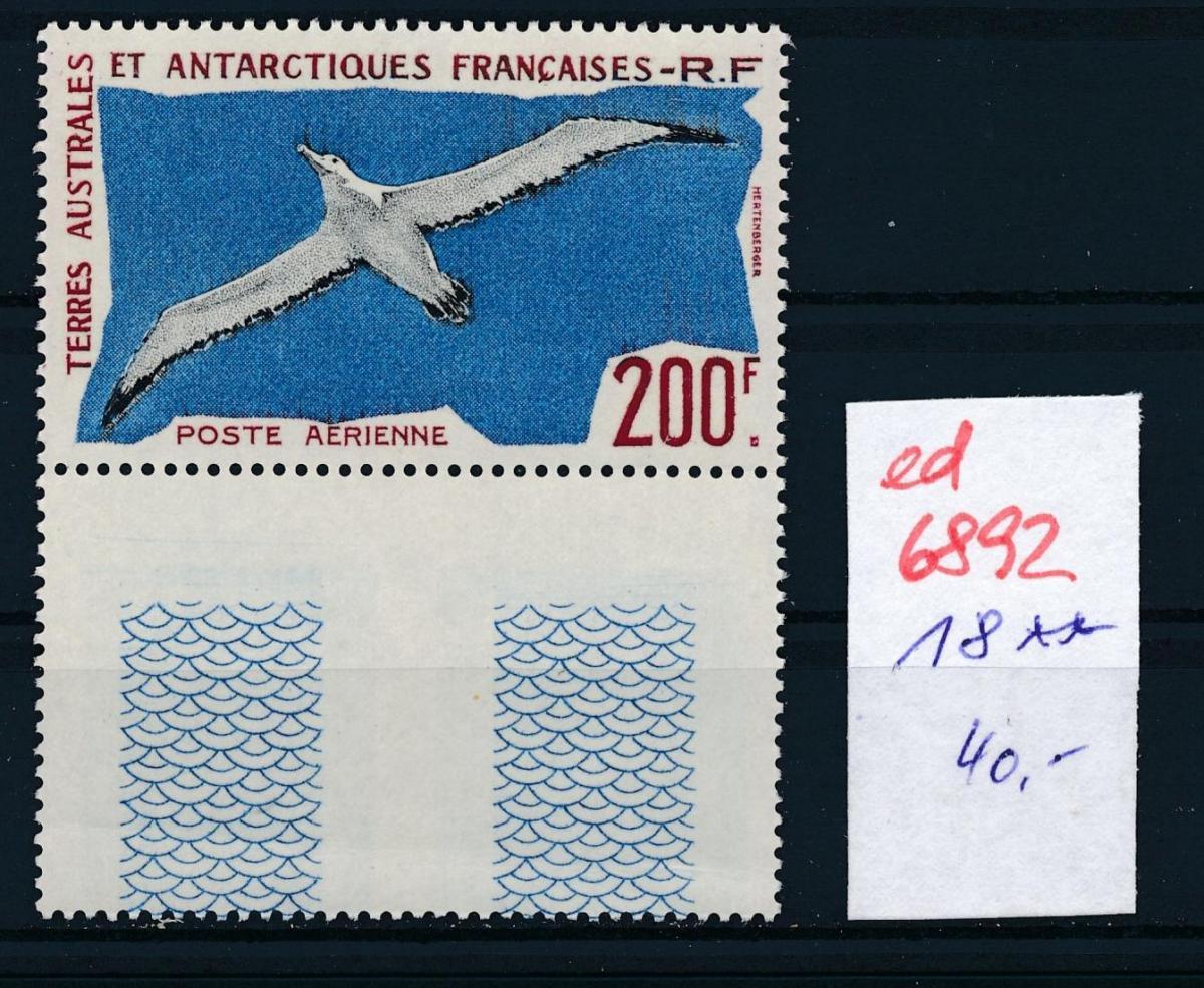 Franz.-Antarktis Nr. 18    **...  (ed6892  ) siehe scan 0