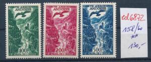 Andorra   Nr. 158-60    **...  (ed6872  ) siehe scan