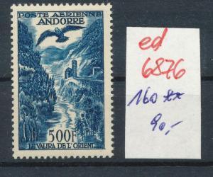 Andorra   Nr. 160     **...  (ed6876  ) siehe scan
