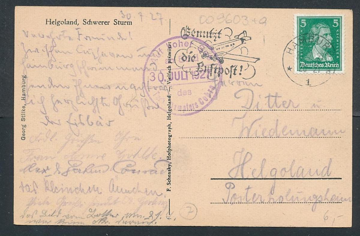 DR.- Schiffpost Karte... (oo9603  ) siehe scan 0