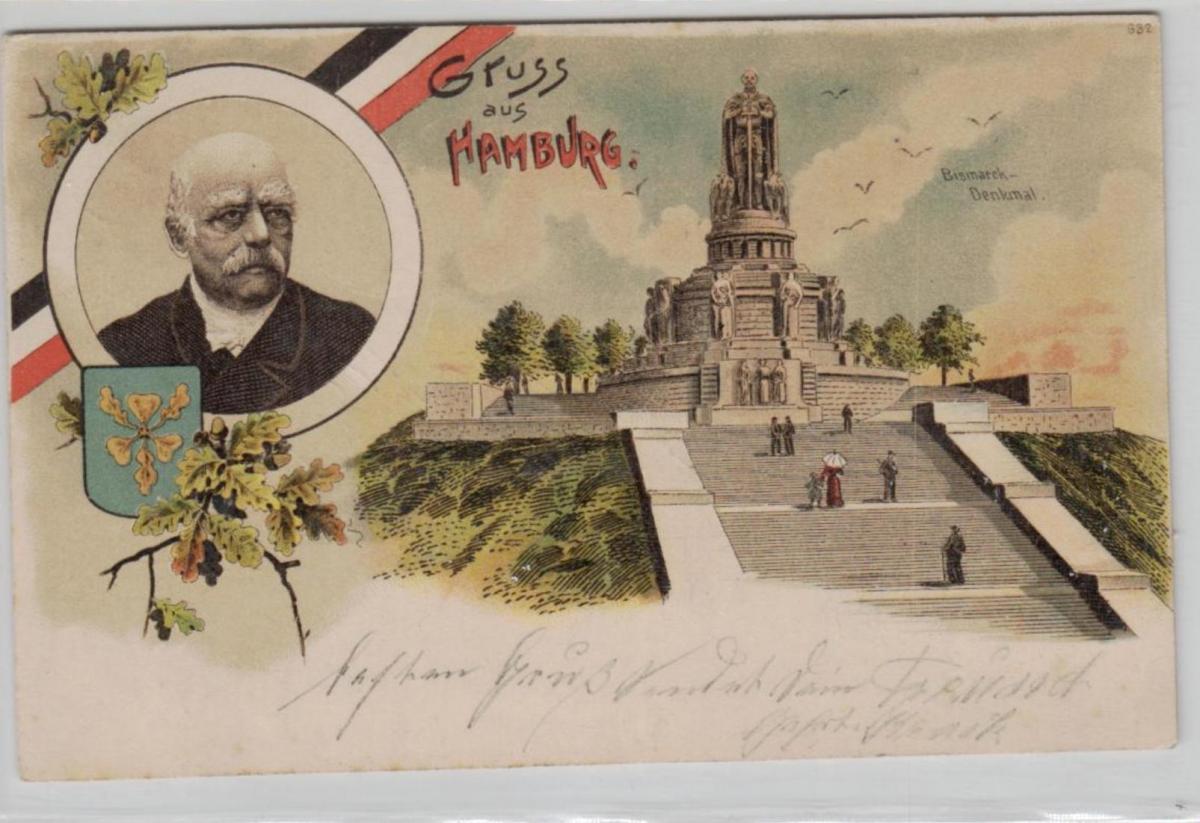 Hamburg ...alte Karte    (ke8281  ) siehe scan 0